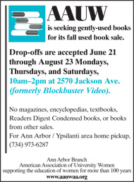 AAUW Book Sale July10